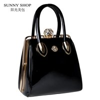 2015 Fashion Skull Diamonds Women Bag Crystal Ladies Evening Bag Bride Tote Bag Women Wedding Handbag