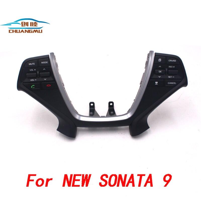 Bouton de commande de volant de direction | Bouton de commande de croisière, Volume Audio, pour Hyundai Sonata 8, interrupteur de volant de direction, nouveau