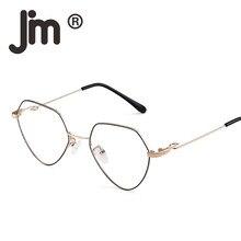 f2276ab75b JM Fashion Heart Rx-able Eyeglasses Metal Wire Optical Glasses Frame for  Women