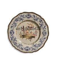 Высокий уровень Керамика Стены блюдо украшения плиты домашней обстановки декоративная тарелка ремесла украшения