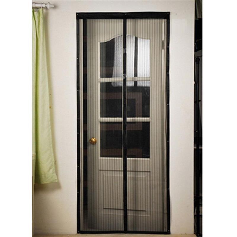 Insect Fly Bug Spider Mosquito Door Net Netting Mesh Screen Summer Hand Free Magnetic Door Net Kitchen Curtain Tulle Door Screen