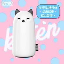 EMIE Kitten 10000 mAh портативное зарядное устройство, 5 V 2.1A быстрая зарядка банк питания USB аккумулятор Внешняя батарея для iPhone 6 7 8 Plus