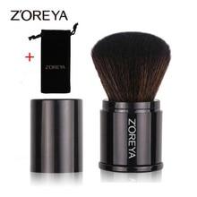 ZOREYA 1Pcs Dustproof Powder Blush Powder Brush Portable Retractable Makeup Brush Beauty Makeup Tool Pincel Maquiagem