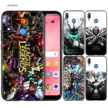Silicone Case Cover for Huawei P20 P10 P9 P8 Lite Pro 2017 P Smart+ 2019 Nova 3i 3E Phone Cases league of legends lol yasuo стоимость