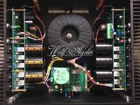Последний список готовой P10 двухканальный Мощность усилитель MJL4281A/MJL4302A HIFI усилитель 400 Вт + 400 Вт
