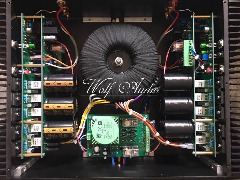 Latest Listing Finished P10 Dual Channel Power Amplifier MJL4281A / MJL4302A HIFI Amplifier 400W+400W