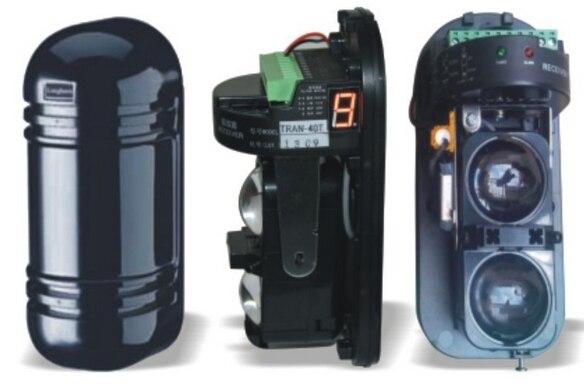 40 meters LED indicator External IR beam detector Outdoor IR Sensor Dual Beam Infrared Barrier Detector For Alarm dual two double 2 beam photoelectric security infrared barrier sensor detector alarm outdoor 20m 150m