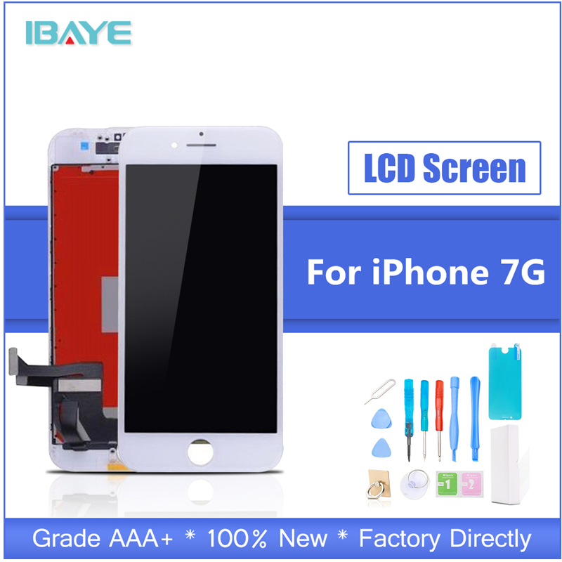 1pcs Grade AAA LCD For iphone 7 Display Touch Screen Digitizer Replacement Full Assembly for iPhone lcd With Tools Kit