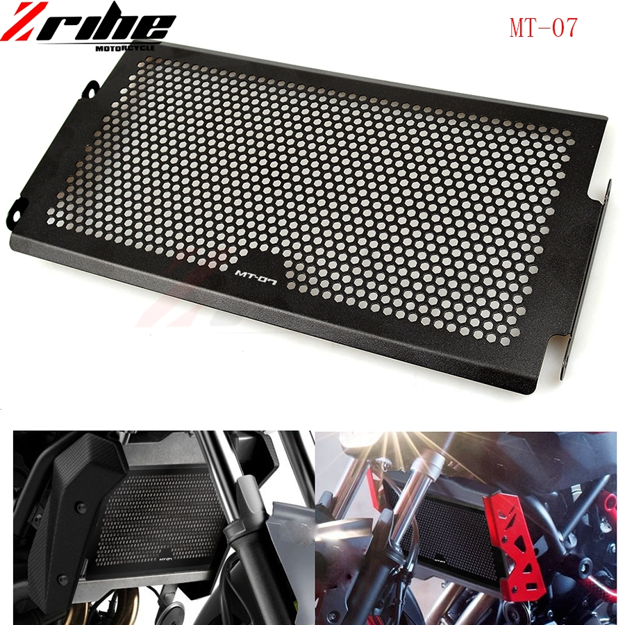 For Yamaha MT-07 MT07 MT 07 Radiator Grille Guard Cover Protector 2014 2015 2016 100% Brand new XSR700 fz07