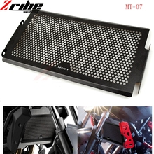 For Yamaha MT-07 MT07 MT 07 Radiator Grille Guard Cover Protector For Yamaha MT-07 2014 2015 2016 100% Brand new XSR700 fz07 цена