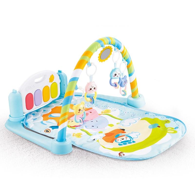 Bébé Gym tapis de jeu Oyuncak jeu éducatif jouer Center jouets musicaux pour nouveau-né activité bébé tapis de jeu Brinquedos Para Bebe