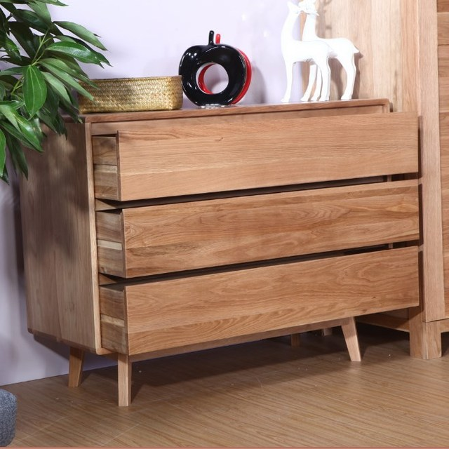 Cheap Nordic Ikea Pastoral Simplicity Mediterranean Three Combination Lockers Chest Of Drawers Chest Of Drawers Wood