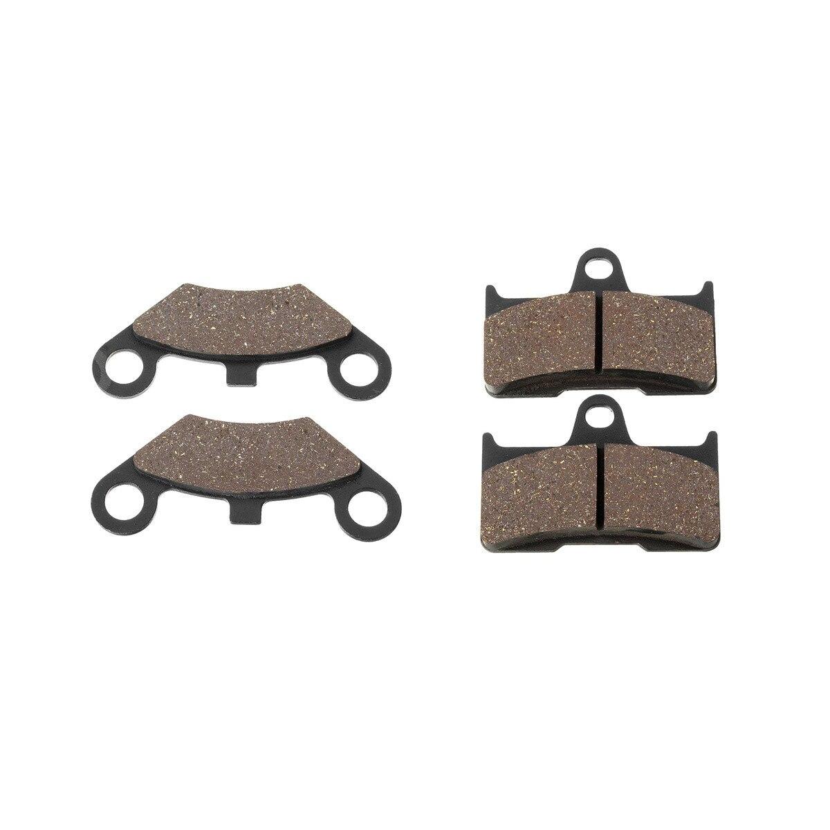 1 Set 4PCS Front & Rear Brake Pad For Yamaha /Shineary/CF/Moto /CFMoto /CF500 500 500CC CF600 600 600CC X5 X6 X8 U5 ATV UTV футболка quiksilver checker pasts tees flint stone