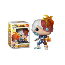 FUNKO POP New Arrival My Hero Academia Amzing Heros & Todoroki 372# Vinyl Action Figure Collection Model Toys for Children Gift(China)