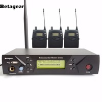 Betagear Pro In ear Monitor System IEM 510 3 Receivers 1 Transmitter 150M Digital Wireless Monitor System For Stage Performance