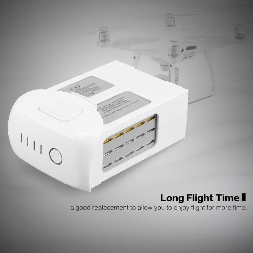 15.2V 5870mAh Intelligent Spare Flight LiPo Battery Replacement Part for DJI Phantom 4 /Advanced/4Pro FPV Quadcopter RC Drone Drone Batterys     - title=
