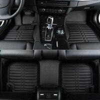 Высокое качество! Специальные автомобильные коврики для BMW 520d 525i 528i 530i 535i E60 2010 2004 водонепроницаемый автомобиля warpets, Бесплатная доставка