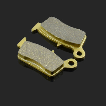Motorcycle Rear Brake Pads Fit For HONDA XR 650 L 650 RY 400 RT XR 250 3/5 CR 125/250 CR 85 CR 80 RN XR 250 SL 230 CRM 250 R image