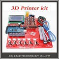 Reprap Ramps 1.4 + Mega 2560 + Heatbed mk2b + 12864 LCD Controller + DRV8825 + Mechanical Endstop+ Cables For 3D Printer diy kit