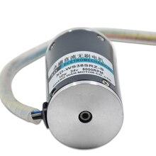 12V/24V DC speed control brushless motor, CW/CCW DC motor цена