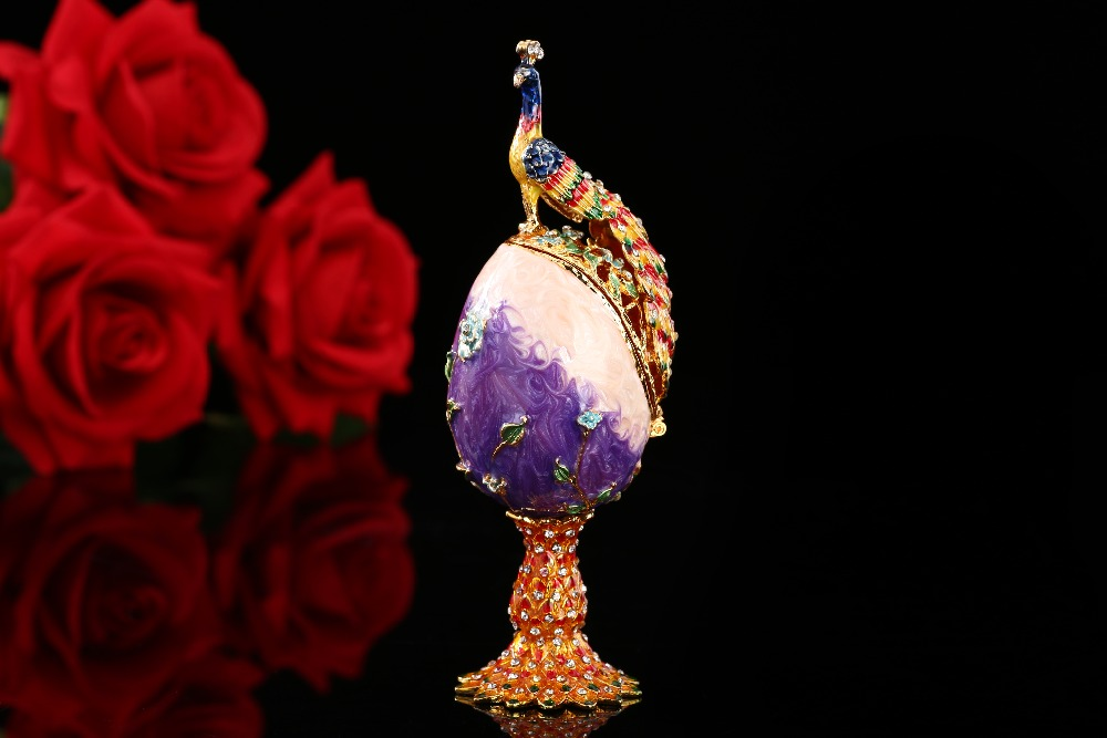 Buy Home Decoration Peacock Faberge Eggs For Home Decor From Reliable