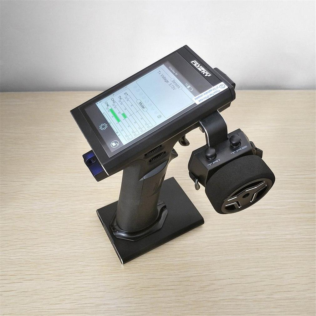 Flysky FS-Nb4 4CH Radio Remote di Controllo del Trasmettitore con Ricevitore per RC Auto Boat Modello FGR4 con Touch Screen Staccabile Base