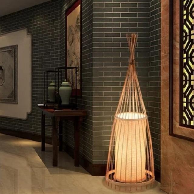 Japanse Bamboo led Vloerlamp 3