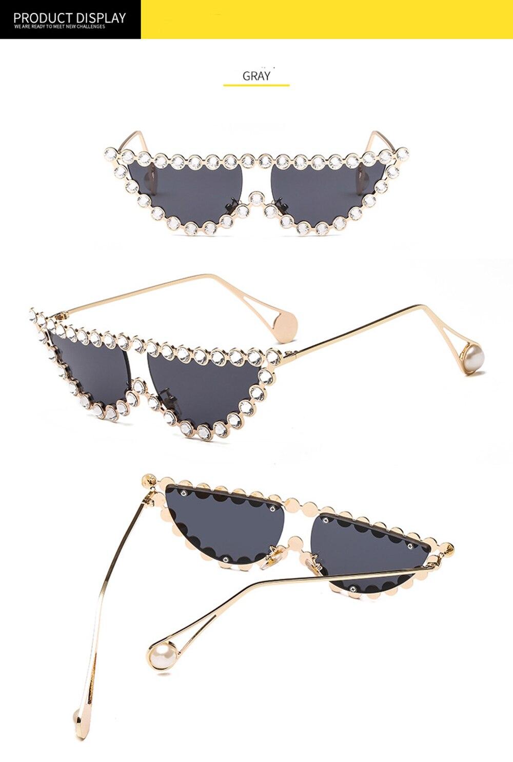 SOL DE ORO Cat Eye Sunglasses Shades for Women Luxury Sunglasses UV400 Protection Polycarbonate Lens Alloy Frame Sunglasses in Women 39 s Sunglasses from Apparel Accessories