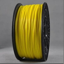 1 75mm ABS filament for 3d printer yellow color hot sale