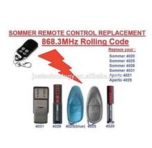 Sommer 4020 4025 4026 4031 4035 remote control replacement 868.3MHZ free shipping
