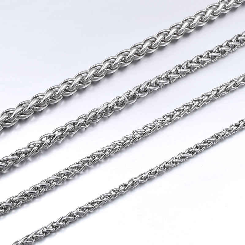 GOKADIMA Stainless Steel Chain Necklace for men or women Jewelry Accessories, Wholesale bijioux