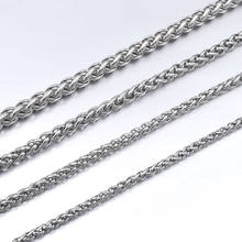GOKADIMA Stainless Steel Chain Necklace for men or women Jewelry Accessories, Wholesale bijioux(China)