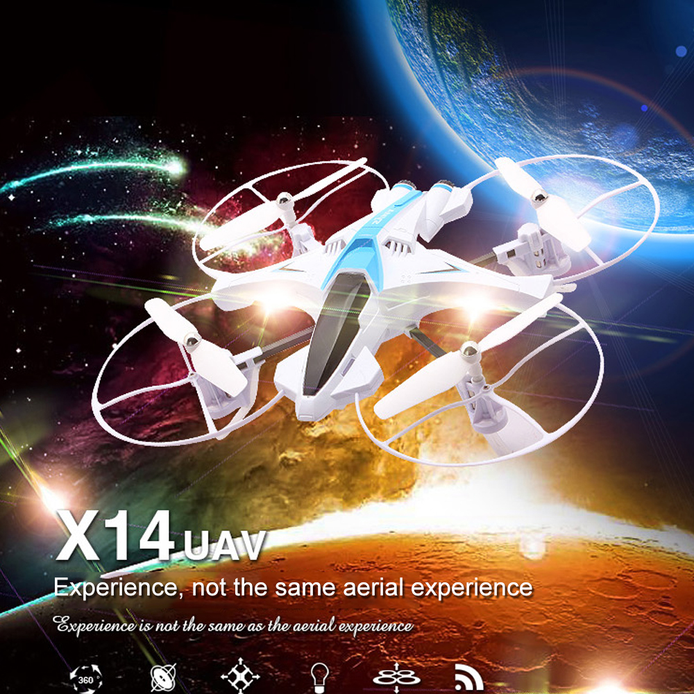 Original SYMA X14 RC Helicopter 2.4G 4CH Remote Control Quadcopter Model Toy Electric Flying Drone Aircraft Gift for Children syma 5a 1 4axis professiona rc drone remote control toy quadcopter helicopter aircraft air plane children kid gift toys