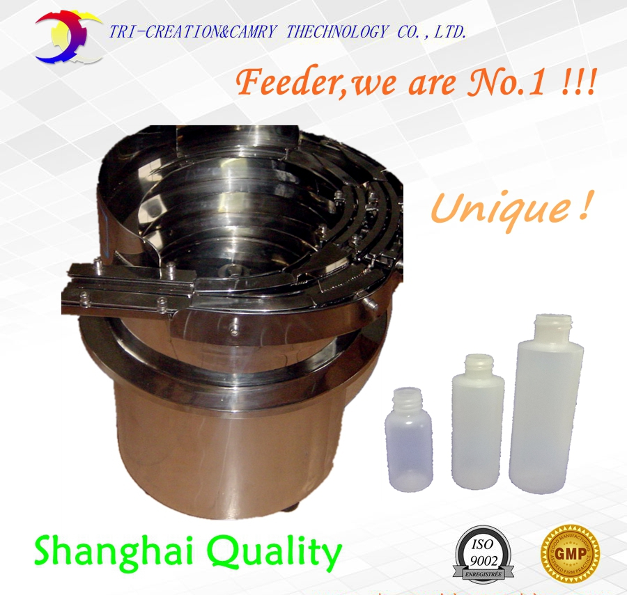 Multi-function bottle vibratory bowl feeder,SUS304 automatic cap vibrate bowl feeder/unscrambler_unique shanghai feeder factory brand new smt yamaha feeder ft 8 2mm feeder used in pick and place machine