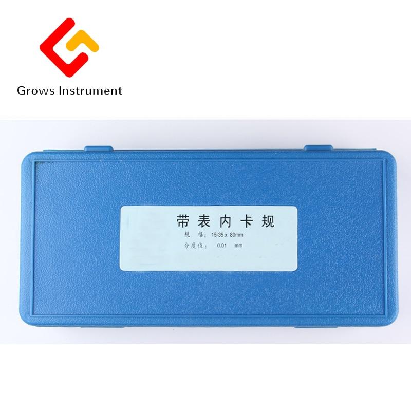95-115mm Calibre Caliper Com Bitola Métrica Medir a Adesão Metalúrgica