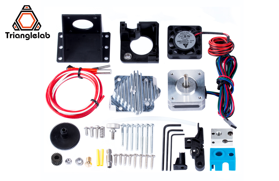 Trianglelab titan extruder full kit Titan Aero V6 hotend extruder full kit   reprap  mk8  i3 Compatible TEVO ANET I3 3d printer 24