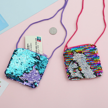 Fashion Neck String Clutch Wallet For Women PVC Clear Small Purse Sequins Jelly Summer Bag Bank ID Card Holder