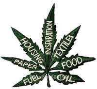ป่านใช้หม้อใบLegalizeวัชพืชย้อนยุคฮิปปี้boho appliqueธาตุเหล็กในแพทช์ขายส่งจัดส่งฟรี