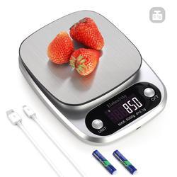 스테인레스 스틸 정밀 usb 전자 주방 규모 균형 음식 규모 0.1/1 그램 가정용 주방 도구 측정 규모