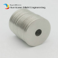 NdFeB Magnet Ring Dia. 24.3x6x1.1 mm N42M 100 degree C Thin Axially Strong Neodymium Permanent Rare Earth Magnets 24 200pcs