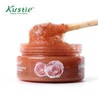 Kustie Watson S Qualify Supplier Fresh Flower Petals Whitening Rose Body Scrub 100ml