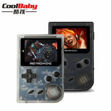 Coolbaby RS-90 Retro Mini Jogador Handheld Do Jogo 32Bit Consola de Jogos Portátil Embutido 36 jogos download de Suporte MP4 Player de Vídeo