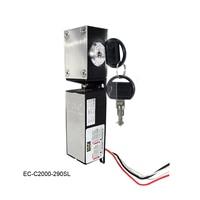 O envio gratuito de EC-C2000-290SL DC-12V fechadura da gaveta de controle da fonte alimentação/fechadura de encaixe de eletricidade (saída de sinais)