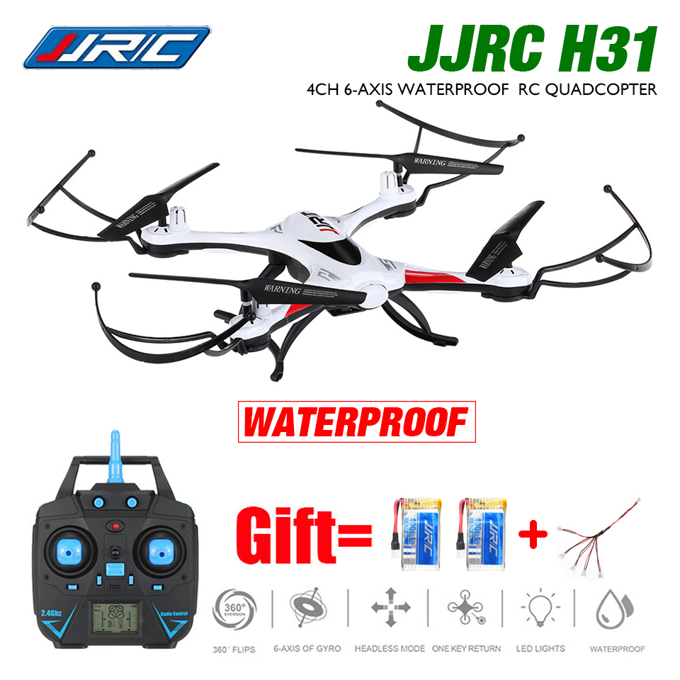 JJRC H31 Waterproof RC Quadcopter FPV RC Drone with Camera WiFi 2.4G 4CH 6-Axis Headless Mode or H31 RC Drone No Camera jjrc h11wh micro drone 4ch 6 axis gyro wifi fpv 3d flip set height quadcopter rc mini drone with 2 0mp hd camera headless mode