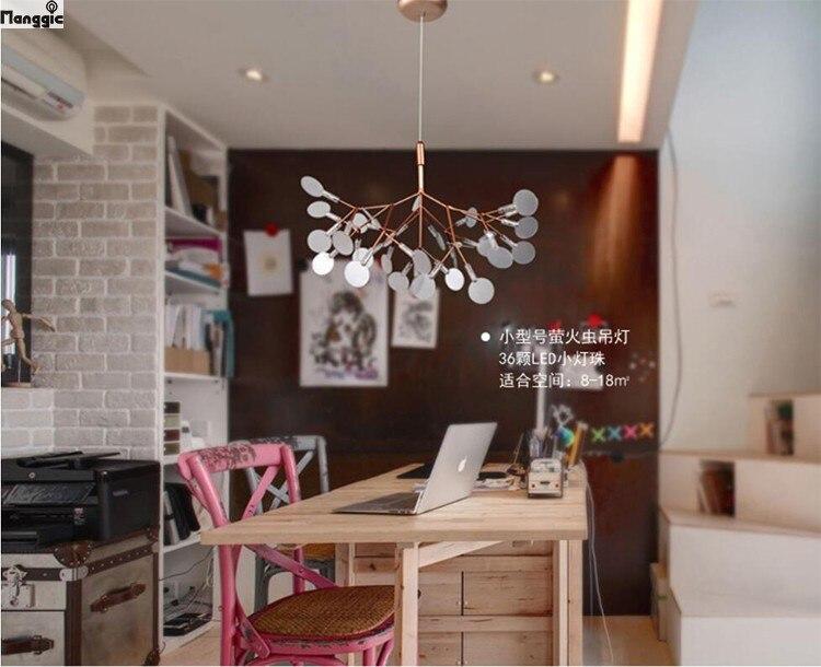 Moderne Lampen 8 : Moderne led kroonluchter licht art deco lustre tak lamp pendientes