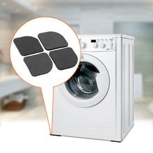 4 шт./компл. ударопрочные полки ящика стиральная машина анти-вибрационная колодка коврик для ног мебели встроенный холодильник