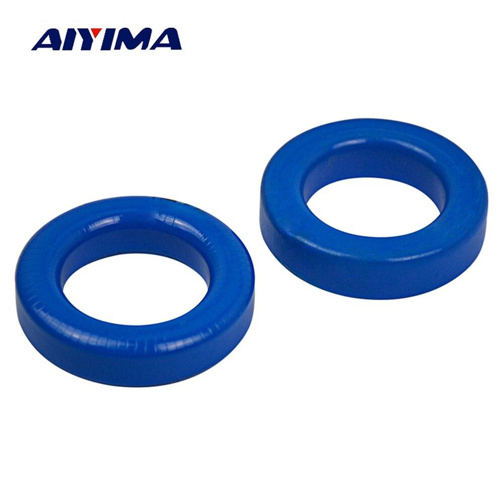 AIYIMA 2 PCS Sinus-wechselrichter Sendust Magnetische Ring MS-225125-2 57,2*35,6*14,0