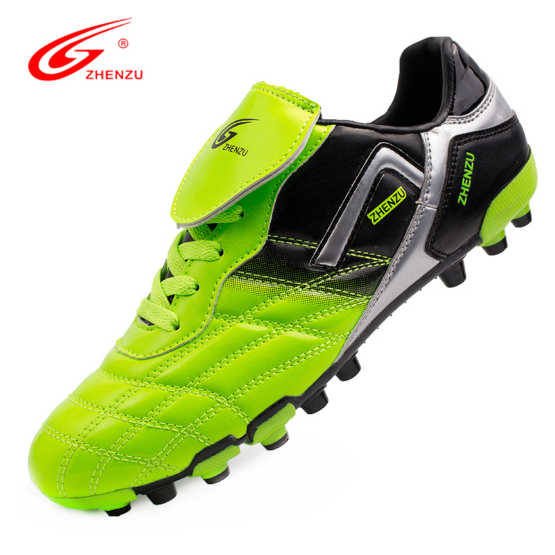 ZHENZU 2016 New Men Soccer Shoes High Quality AG Football Boots Artificial Ground Sport Sneakers Football