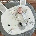 Abrigo manta de bebé mantas de Franela de algodón Suave Pañales recién nacido oso animal de la historieta Infantil ropa de Cama de 95*95 cm Regalo de Los Cabritos