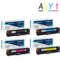 LCL 305A CE410A CE411A CE412A CE413A 1 Pack Toner Cartridge Compatible For HP Laserjet Enterprise 300